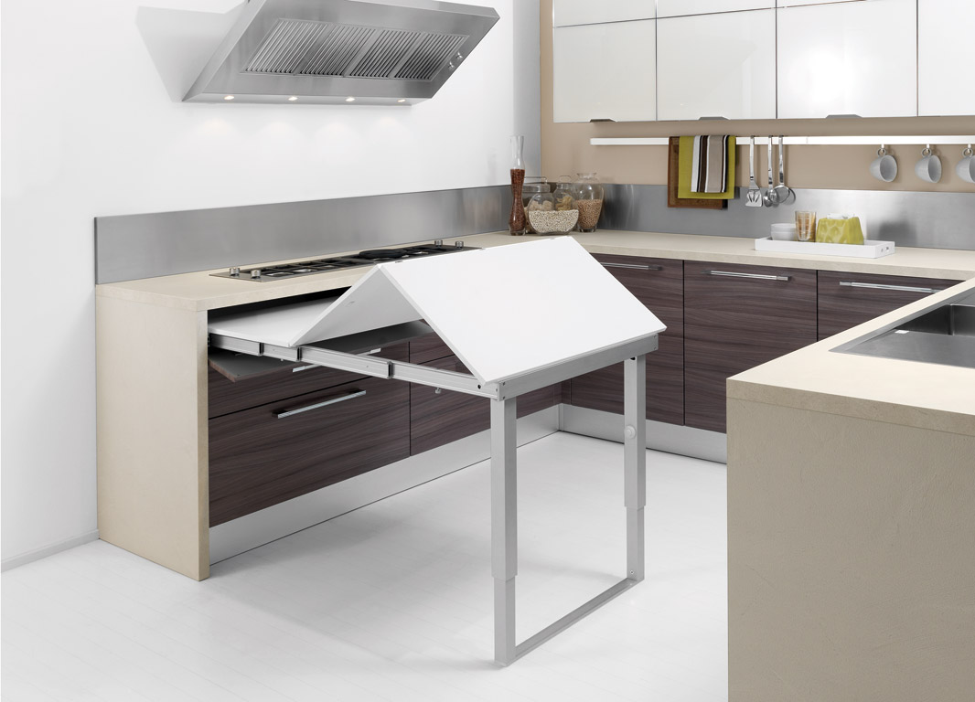 Kitchen Countertop Design 紀氏有限公司 伸展桌